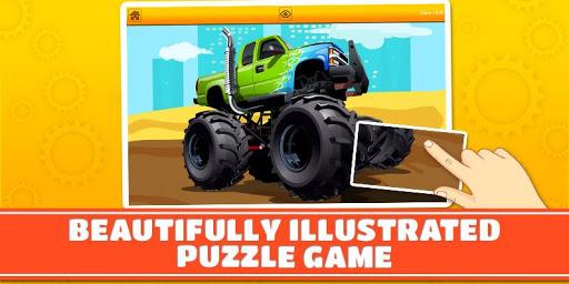 Monster Trucks Kids Puzzles