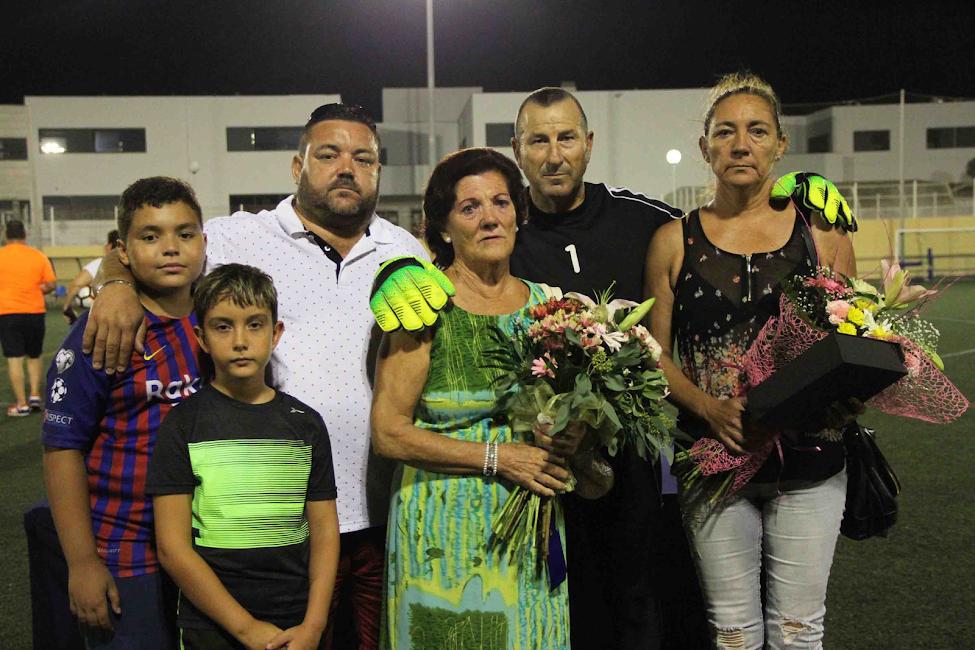 La familia de Juan Malavida.