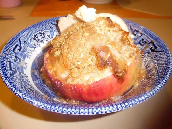 Apple Cup Crisp Recipe