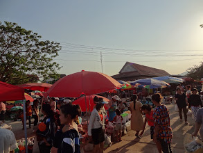 Photo: Marché Luang Nam Tha Mai 2012