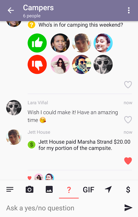 Dasher Messenger- screenshot