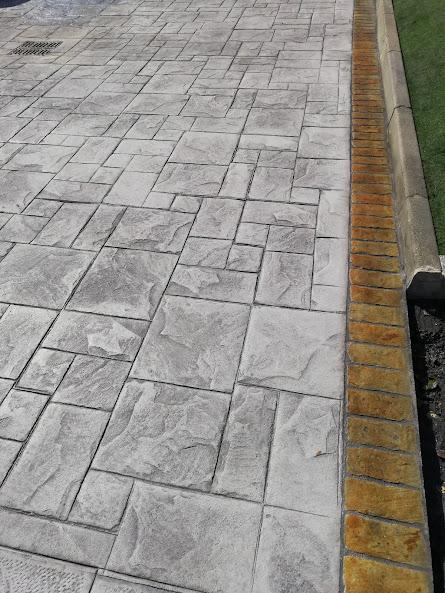 posa di cemento stampato oristano
