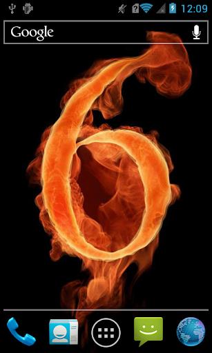 Fiery number 6 LWP