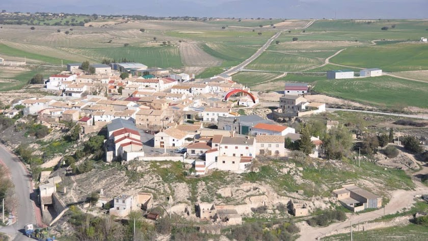 Cañadas de Cañepla, en María.