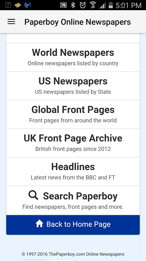 Paperboy Newspapers- screenshot