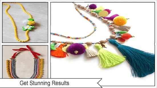 Colorful DIY Pom Pom Jewelry – Apps bei Google Play