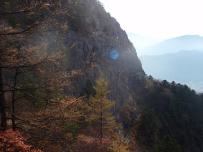 Photo: 中央カンテ・全景