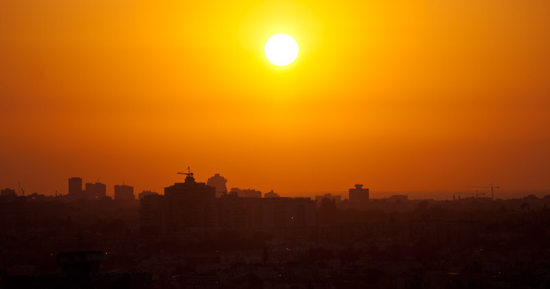 Photo: Ramat Gan and Tel Aviv-Yafo, Israel