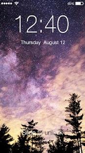 Stars PIN Lock Screen - náhled