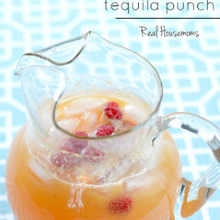Rosemary Peach Tequila Punch Recipe