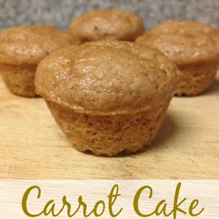 Carrot Cake Weight Watchers Muffins (1 Points Plus Value).