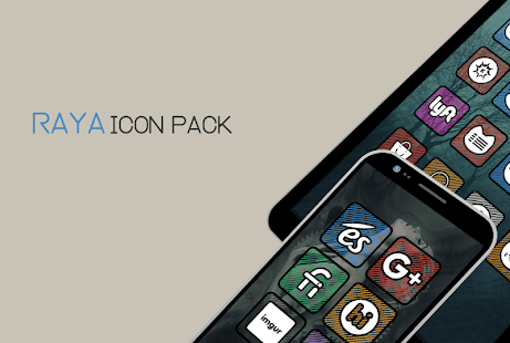 Raya Icon Pack Screenshot