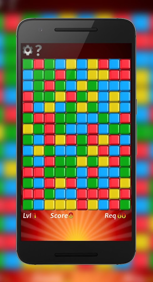 Cube Crush HD - Free Collapse Game- screenshot