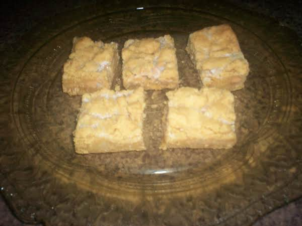 Easy Peanutbutter Bars Recipe