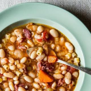 Pasta Fagioli Soup With Ham Recipes.