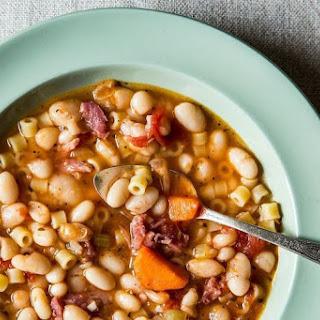Pasta Fagioli-Hearty Bean Soup.
