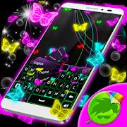 Neon Butterflies Keyboard 1.279.1.200 Icon