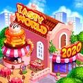 TASTY WORLD: Kitchen tycoon - Burger Cooking game APK