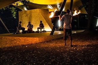 Photo: Bocadorada w parku koło CSW, projekt Zielony Jazdów, 03.VIII.2013, Warszawa; Katarzyna Enemuo, Jesus Sallabera Molina, Pablo Sallabera Moszczyński