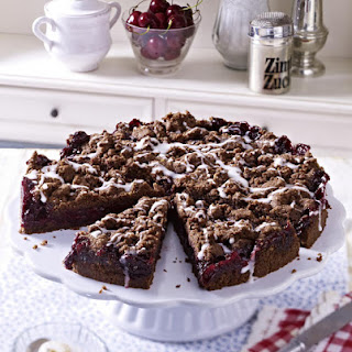Chocolate, Cherry and Hazelnut Cake