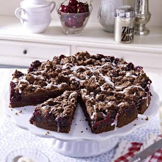 Chocolate, Cherry and Hazelnut Cake.