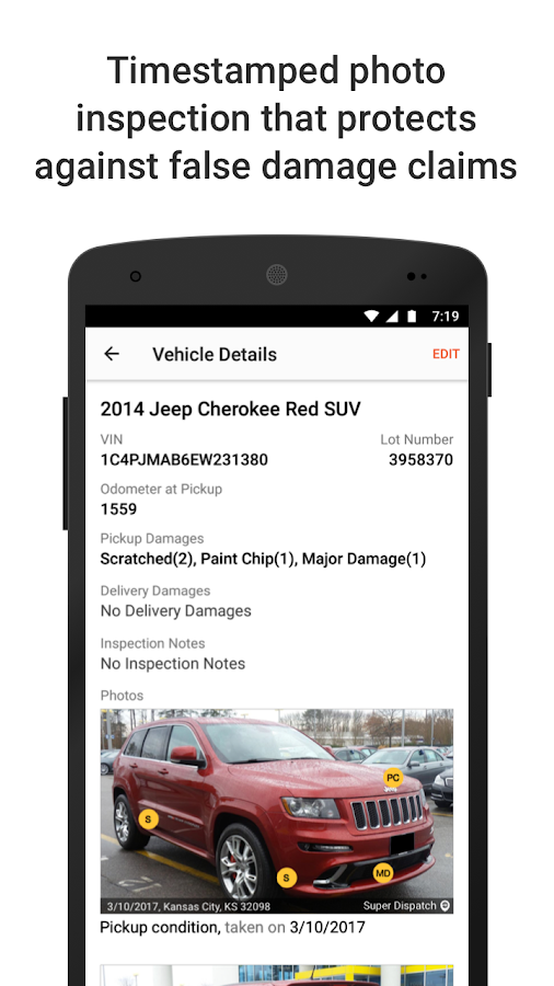 BOL App for Car Haulers (ePOD)- screenshot