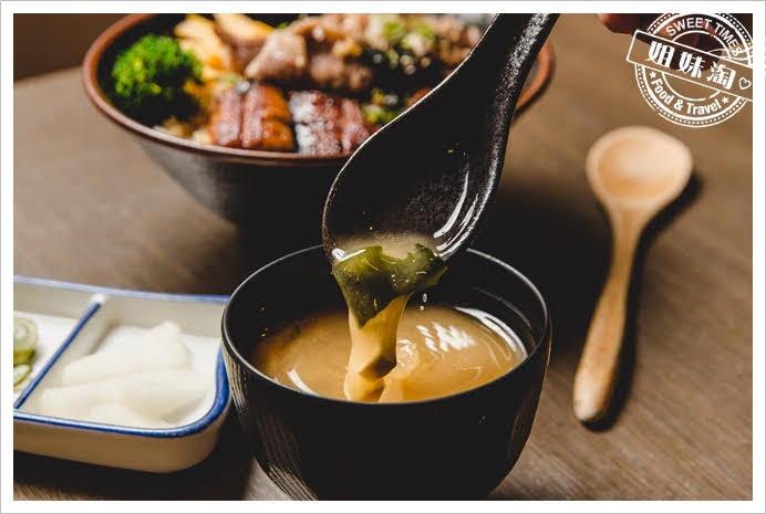 浪漫鰻屋味噌湯