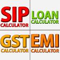 Financial Calculator- GST, EMI, SIP, ATM Finder icon