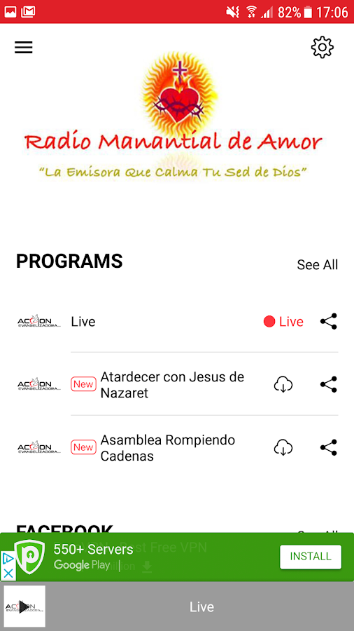 JESUS Y MARIA 101.9 FM- screenshot