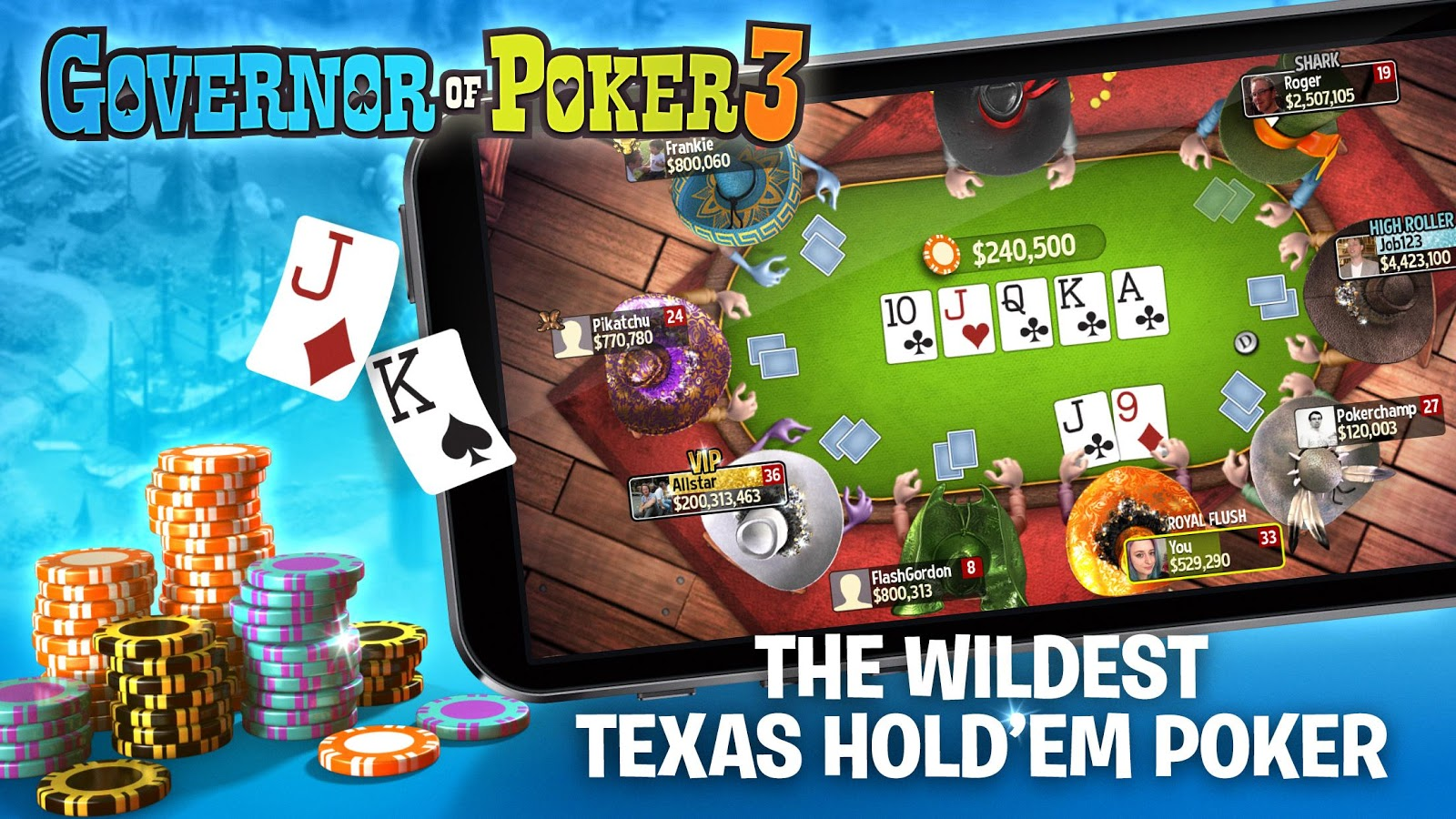 governor of poker texas holdem