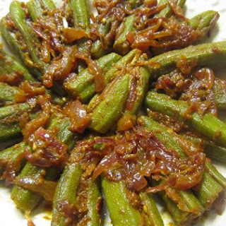 Stuffed Okra-North Indian Style