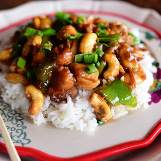 Cashew Chicken.