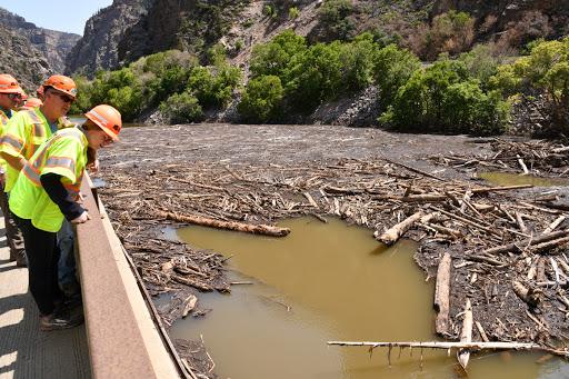 Beyond I-70 closure, Glenwood Canyon mudslides halt Amtrak trains and spur lengthy Bustang reroute