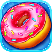 Crazy Donut Cooking Chef - Deep Fried Food Maker
