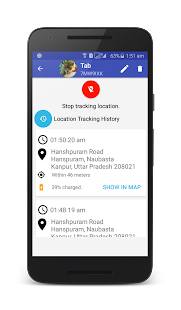 Person Location Tracker - náhled