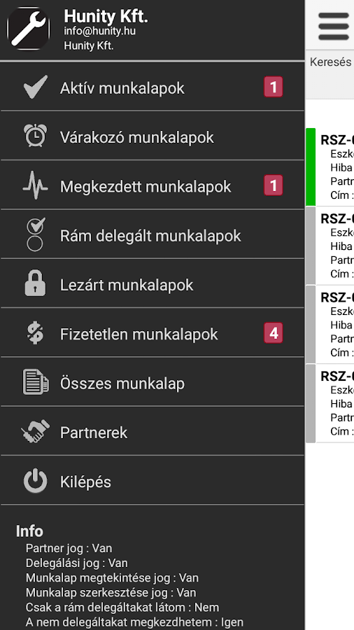 emunkalap.hu- screenshot