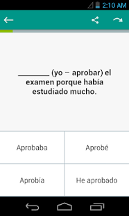 Spanish Grammar: Tenses- screenshot thumbnail