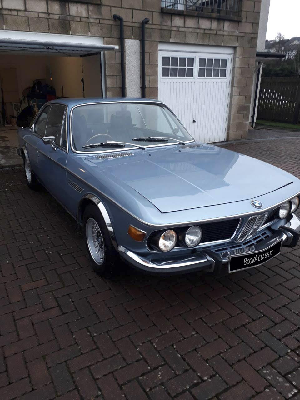 BMW E9 CSA Hire Glasgow