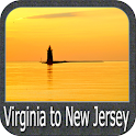 Virginia to New Jersey GPS icon