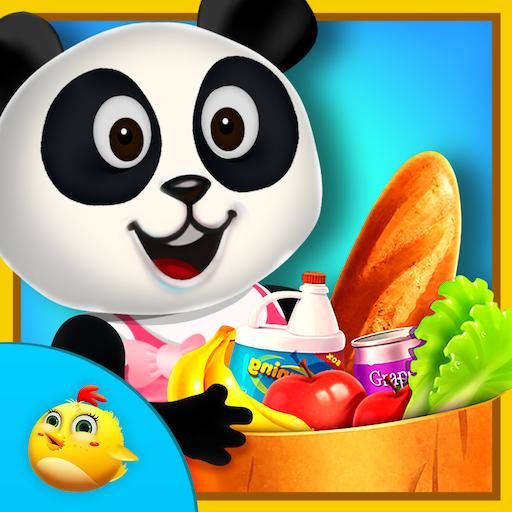 教育の甘い赤ちゃんパンダのスーパーマーケット LOGO-HotApp4Game