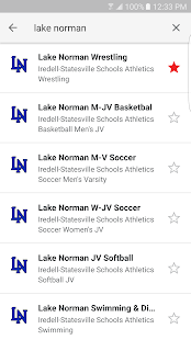 Iredell Statesville Athletics- screenshot thumbnail