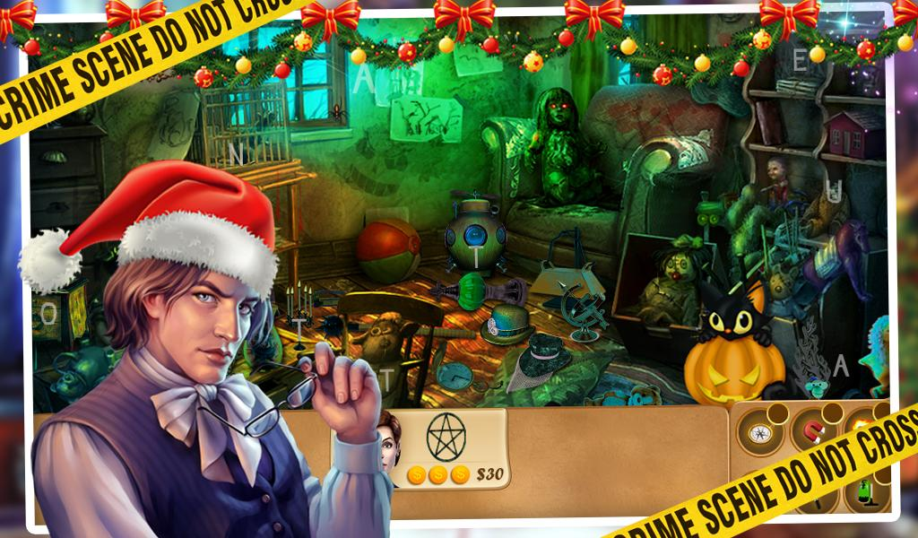 Christmas Case Hidden Object- screenshot