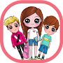 How to draw cute girly and boys APK icon
