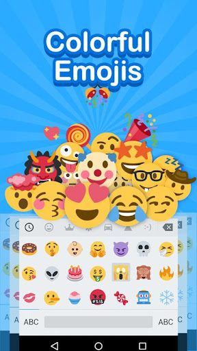 Emoji Keyboard - Cute Emoji,GIF, Sticker, Emoticon 2.2.4 screenshots 1