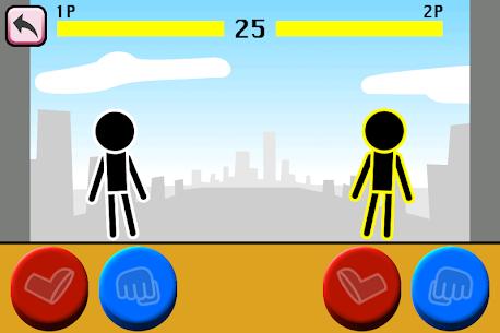 Fighting games Mokken: stick man battle 4