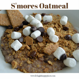S'mores Oatmeal.
