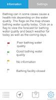 Screenshot of Bathing Water