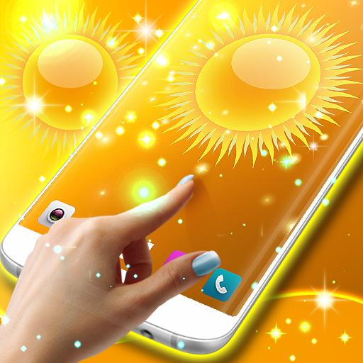 Glossy bright wallpaper (app)