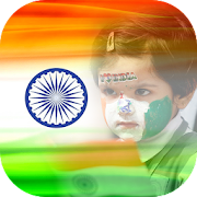 India Flag Photo DP & Indian Flag Letter