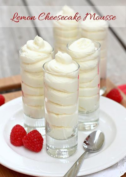 Lemon Cheesecake Mousse Recipe
